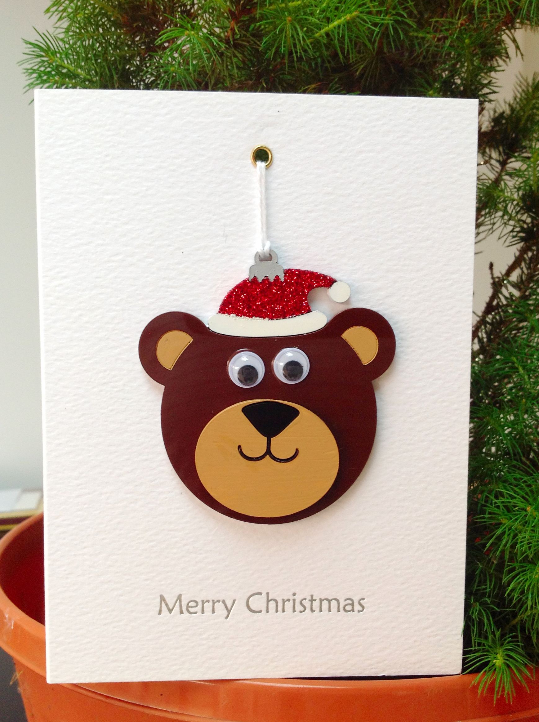 Christmas Bear.Baublezz Christmas Bear 5923